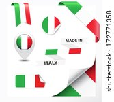 made in italy collection of... | Shutterstock .eps vector #172771358