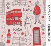 london  seamless | Shutterstock .eps vector #172771706