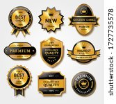 useful collection of badges and ... | Shutterstock .eps vector #1727735578