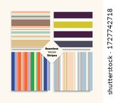 Sailor Stripes Seamless Design...