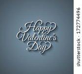 valentines day vintage...   Shutterstock . vector #172774496