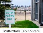 Visitor Reservered Parking Sig...