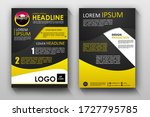 flyer brochure pamphlet in a4... | Shutterstock . vector #1727795785
