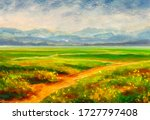 Summer Landscape And Country...