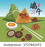 dragon boat festival... | Shutterstock .eps vector #1727841472