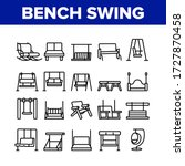 bench swing furniture... | Shutterstock .eps vector #1727870458