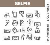 selfie photo camera collection...   Shutterstock .eps vector #1727870515