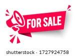 vector illustration for sale... | Shutterstock .eps vector #1727924758