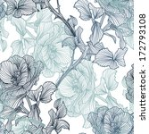 elegant seamless pattern with... | Shutterstock .eps vector #172793108