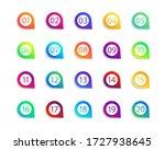 bullet numbers. infographic... | Shutterstock .eps vector #1727938645