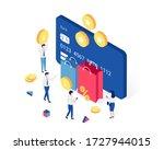 cashback  rewards and loyalty...   Shutterstock .eps vector #1727944015