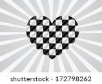 racing flags background... | Shutterstock .eps vector #172798262