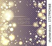 dust white. sparkling magical... | Shutterstock .eps vector #1727992468