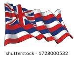 vector illustration of a waving ...   Shutterstock .eps vector #1728000532