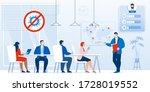 briefing  business meeting... | Shutterstock . vector #1728019552