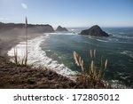 Pacific Ocean Waves Wash Ashore ...