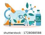 biodegradable plastic invention ...   Shutterstock .eps vector #1728088588