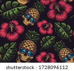 Seamless Color Pattern On The...