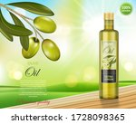 Olive Oil Bottle Design On...