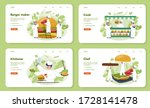 fast food  burger house web... | Shutterstock .eps vector #1728141478
