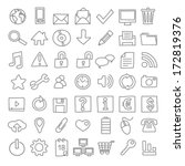 49 hand drawn web icons