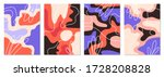 a set of posters with abstract... | Shutterstock .eps vector #1728208828