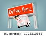 Boy Drive  Little Retro Car...