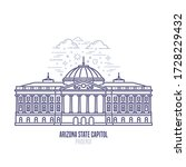 arizona state capitol located... | Shutterstock .eps vector #1728229432