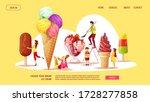 website design for ice cream...   Shutterstock .eps vector #1728277858