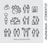 mental illness. family... | Shutterstock .eps vector #1728303715