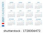 calendar 2021 year horizontal   ...   Shutterstock .eps vector #1728306472