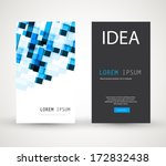 business cards | Shutterstock .eps vector #172832438