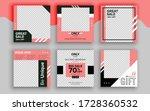 set of sale banner template... | Shutterstock .eps vector #1728360532