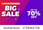 sale banner template with...   Shutterstock .eps vector #1728362728