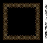 vector vintage pattern for... | Shutterstock .eps vector #172836902