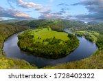 River Canyon Vltava.  Horseshoe ...