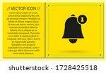 bell 1 icon vector. lorem ipsum ...
