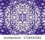 Snake Skin Repeat. Lavender...