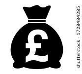 Money Bag Icon Isolated On...