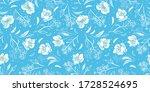 vector elegant botany hand... | Shutterstock .eps vector #1728524695