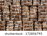 coconut coir stack as... | Shutterstock . vector #172856795