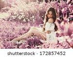 Stock photo woman in the garden 172857452