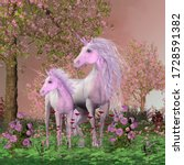 Spring Mare And Foal Unicorns...