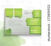 vector design. green ...