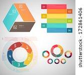 modern design template set  ... | Shutterstock .eps vector #172861406