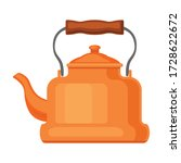 Kettle Vector Icon.cartoon...