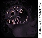 Dark Scary Cartoon Halloween...