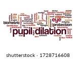 pupil dilation word cloud... | Shutterstock . vector #1728716608