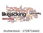 likejacking word cloud concept...