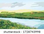 Beautiful Panorama View Of The...